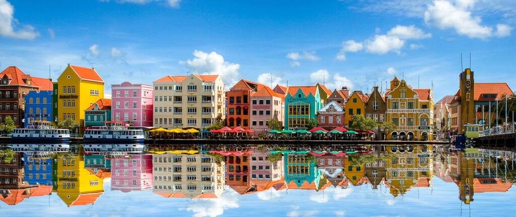 Willemstad and Hauptstadt in Curaçao