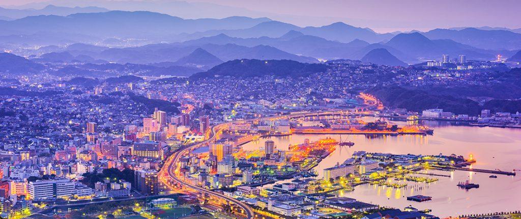 Nagasaki skyline - Japan