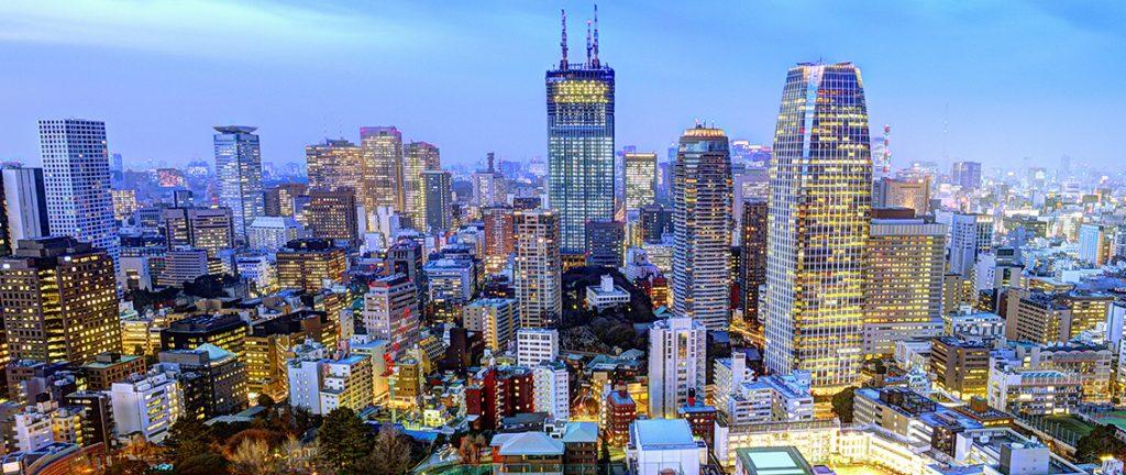 Tokyo city skyline - Japan