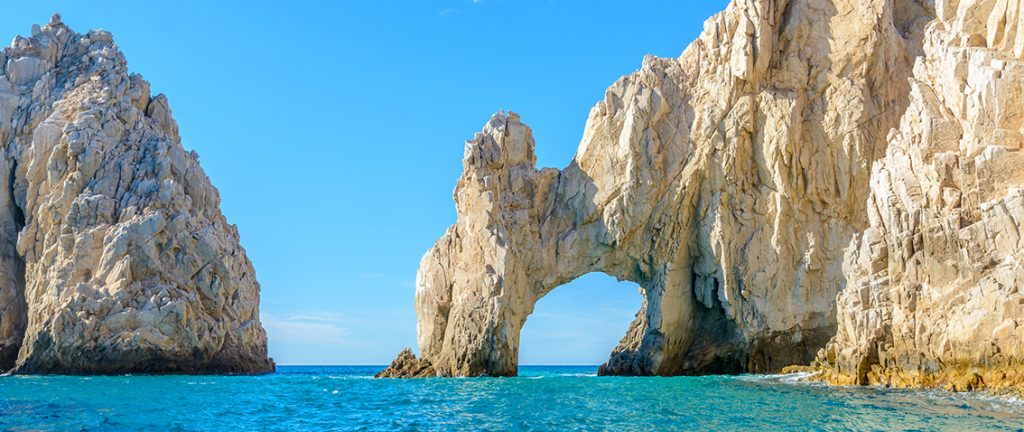 The arch point (El Arco) at Cabo San Lucas