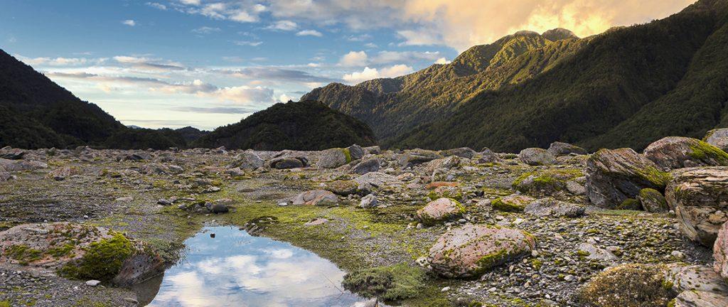 Sunset At Franz Josef Glacier - New Zealand- New Zealand