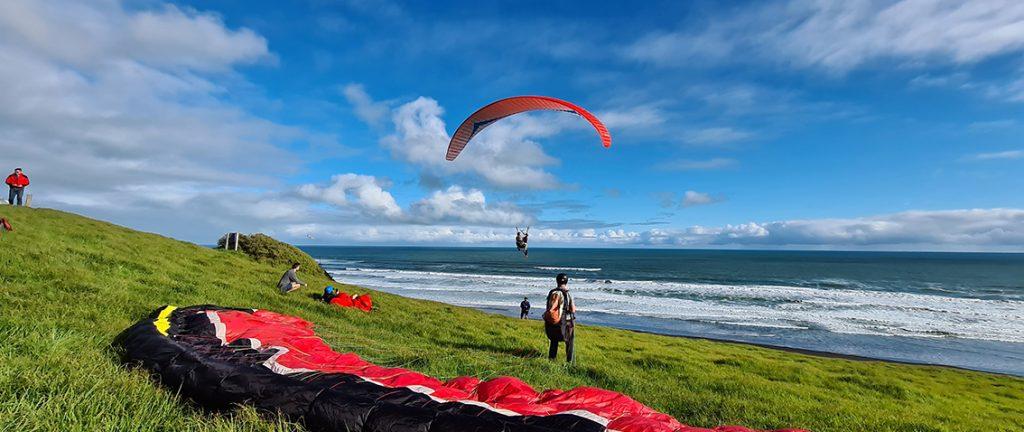 Paragliding near Auckland - New Zealand